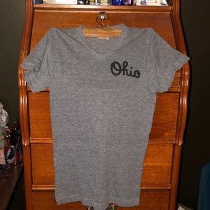 Homage Ohio script t shirt